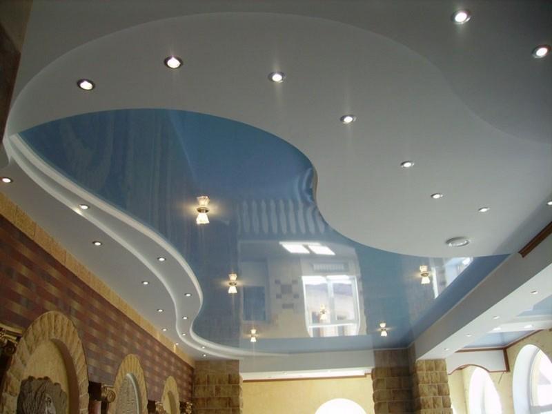 декоративная отделка потолка фото