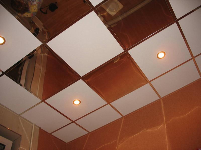 зеркальный потолок армстронг фото