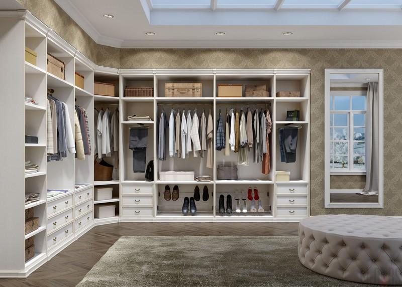 как оформить гардеробную комнату фото