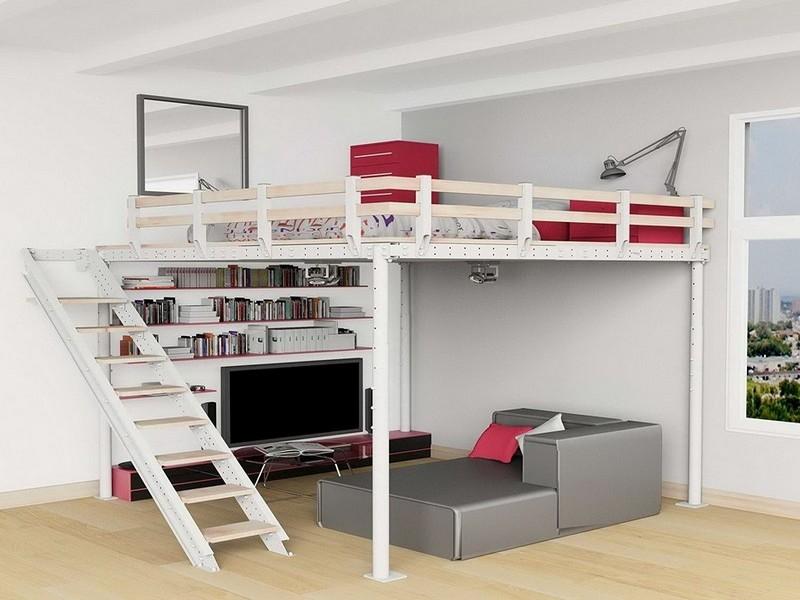 двуспальная кровать чердак для взрослых фото