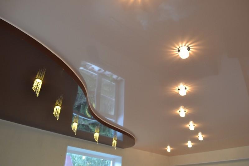 потолочные встраиваемые светильники фото