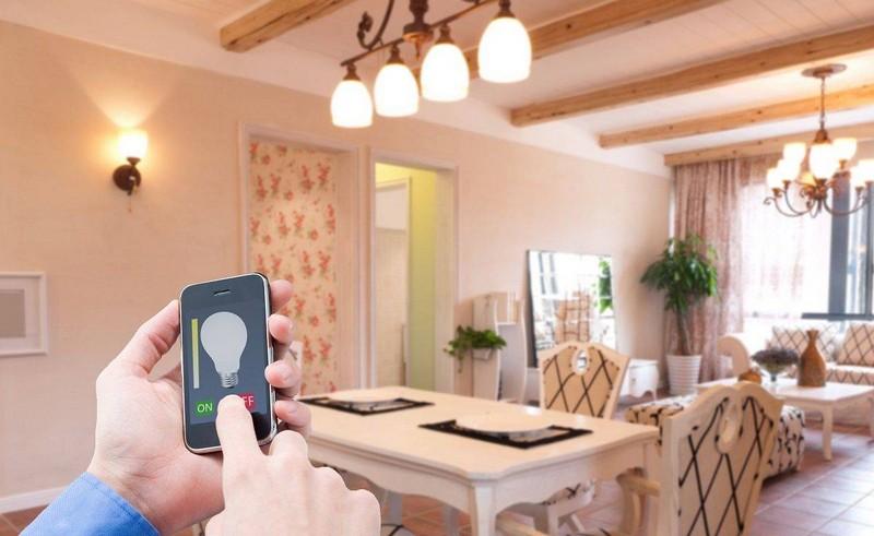 система освещения умный дом фото