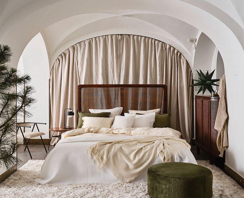 мебель для спальни в скандинавском стиле фото
