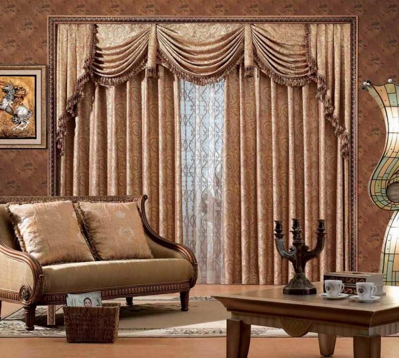 текстиль в классическом интерьере фото