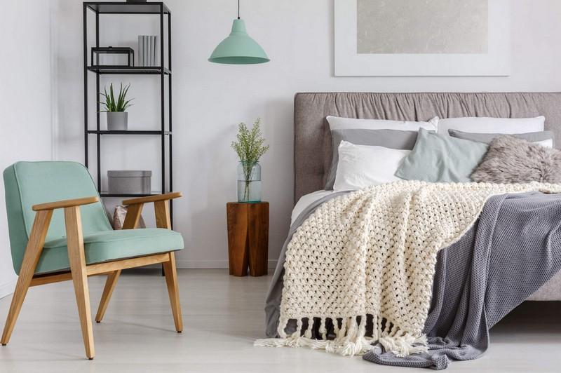 текстиль в скандинавском стиле фото