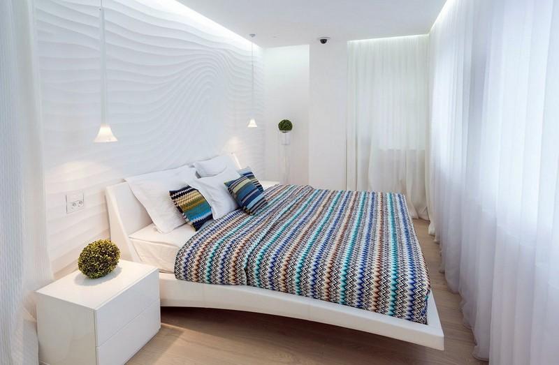 преимущества белой спальни
