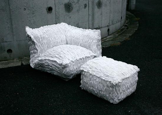 Мебель из необычных материалов