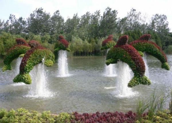 Необычные кусты Топиари