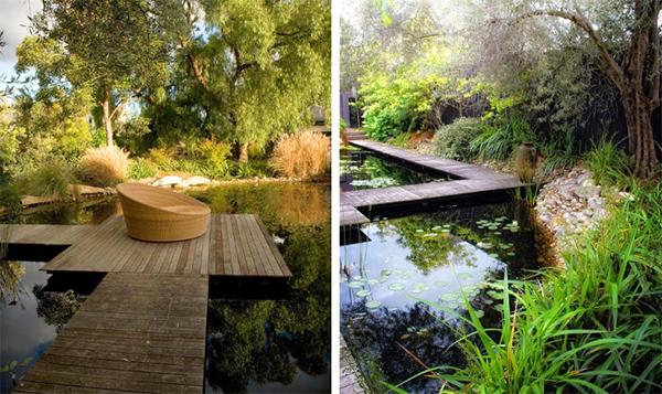 Берег реки в ландшафтном дизайне