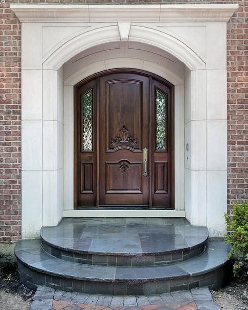 Дизайн входной двери фото