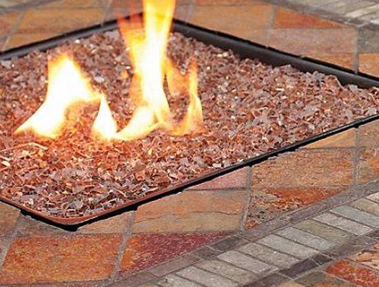 Камин на природном газе