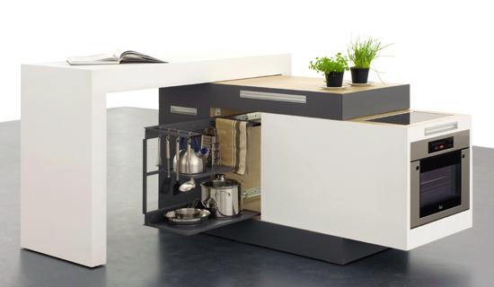 Дизайнерские идеи для небольшой кухни