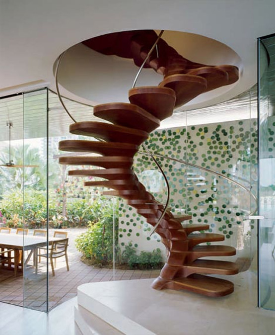Современные деревянные лестницы