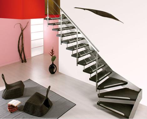 Дизайн лестницы фото