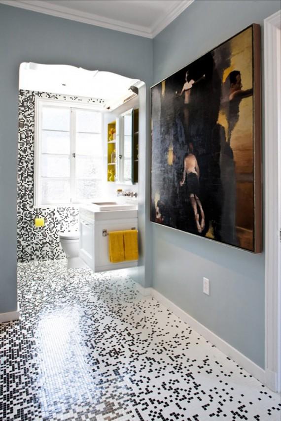 Пиксельная керамическая плитка от Грэга де Меза