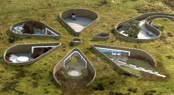 Подземные дома
