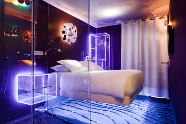 Проводим ночь в фантастической спальне