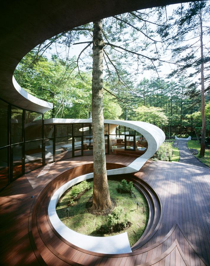 Вилла «Раковина» японского дизайнера Котаро Иде