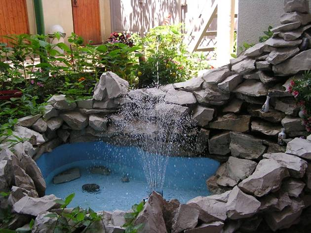 Фото своими руками домашний фонтан