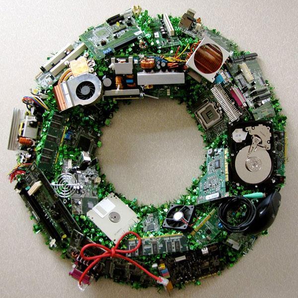 Новый год: новые технологии - в декоре!