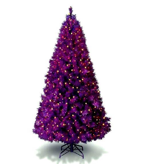 Разноцветные новогодние елки
