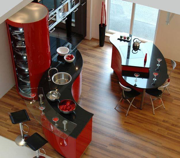Роль красного цвета в дизайне интерьеровРоль красного цвета в дизайне интерьеров