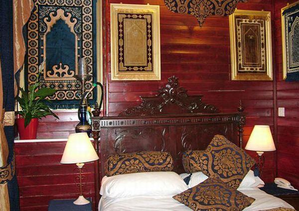 Спальня в марокканском стиле
