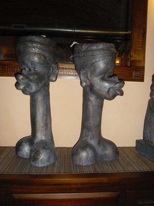 Декор в африканском стиле.