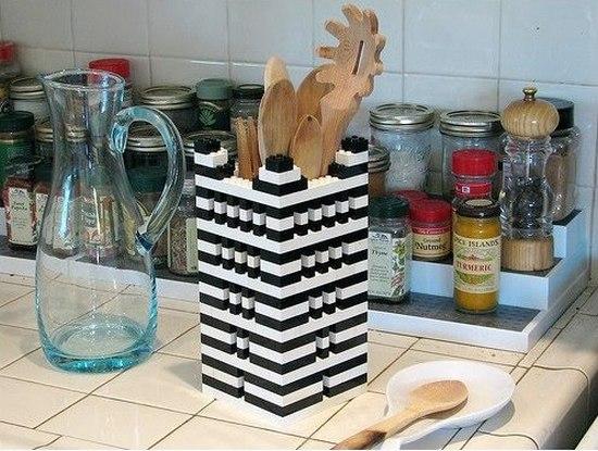 Подставка для кухонной утвари Lego