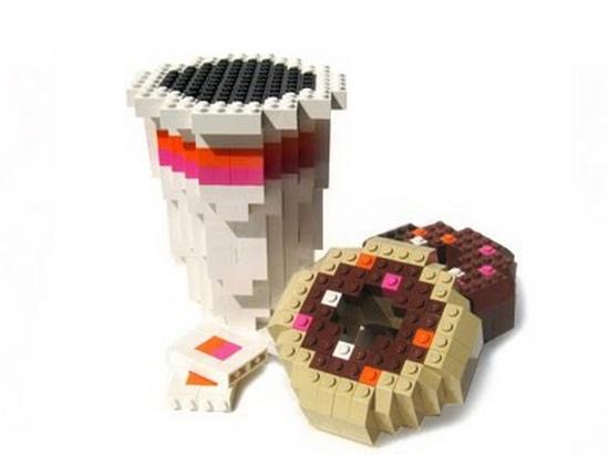Конструктор Лего кофе