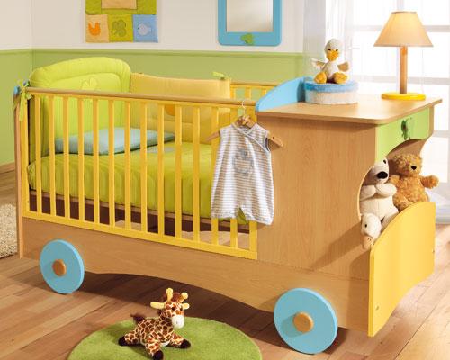 Кроватка для младенца фото