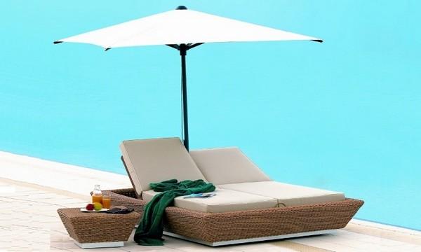 Мебель для сада с зонтом фото