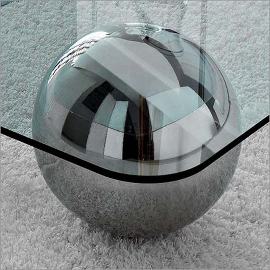 Кофейный столик стеклянный фото
