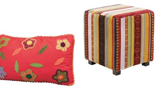 Пасхальный декор интерьера подушки