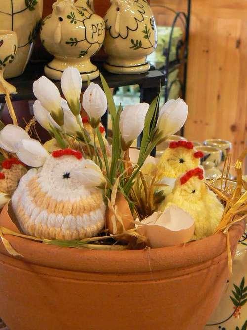 Пасхальный декор фото