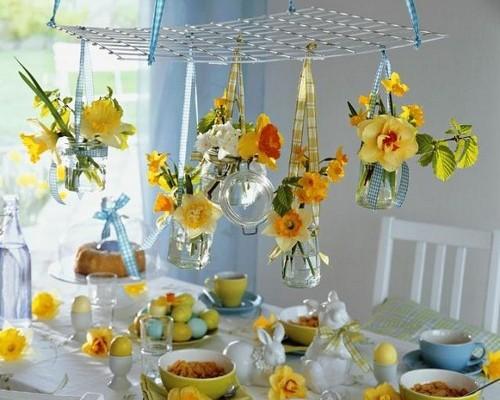 Пасхальный стол декор