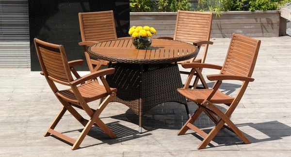 Мебель для сада деревянная фото