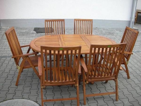 Мебель для сада из дерева фото