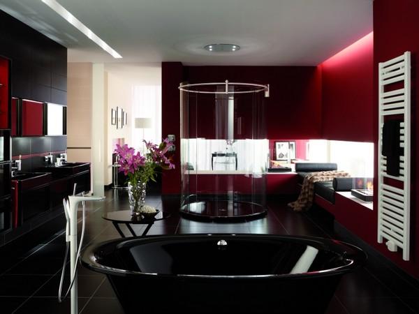 Черные ванны фото