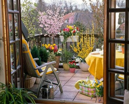 Дизайн интерьера балкона фото