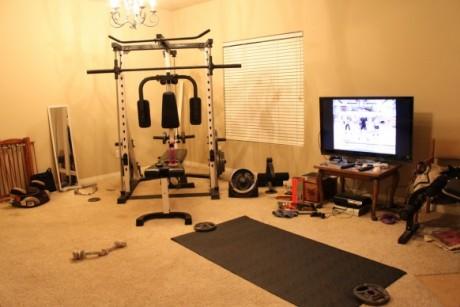 Спортзал дома фото