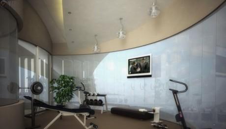 Домашний спортзал фото