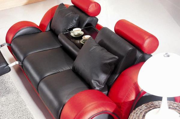 Кожаные диваны для офиса
