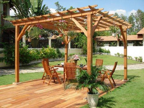 Садовая мебель и перголы