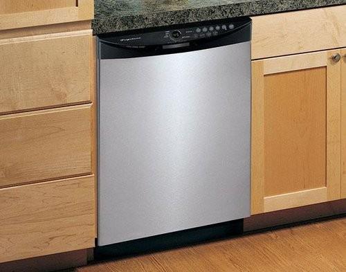 Частично встраиваемая посудомоечная машина фото