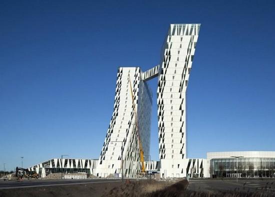 Необычные отели мира - Bella Sky Hotel