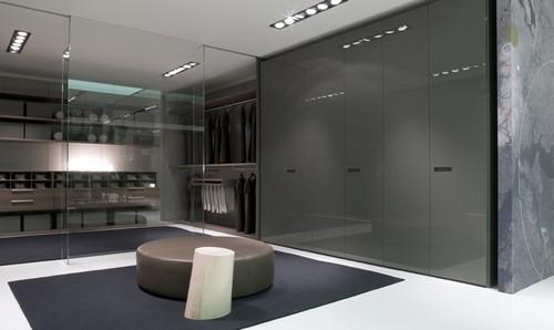 Угловые гардеробные комнаты
