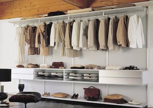 Гардеробные комнаты-шкаф