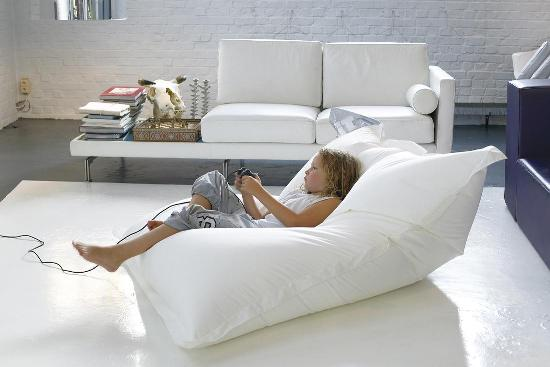 Бескаркасные кресла-мешки фото