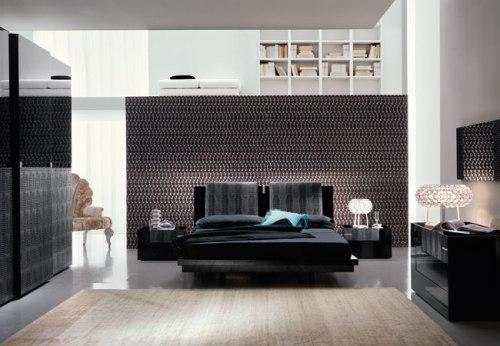 Дизайн спальни с подиумом